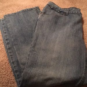 Faded Glory Jeans Size 12 Missy Petite